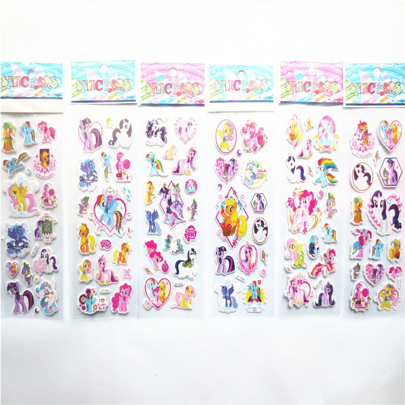 30 pcs Cute Unicorns Girls Stickers Kids Loot Bag Party Diary School Reward Pony