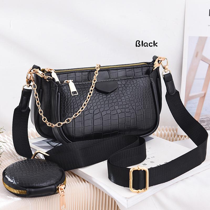 GDeal Korean Modern PU Leather Multifunctional Mini Sling Bag Women Dating Dinner Fashion Bag
