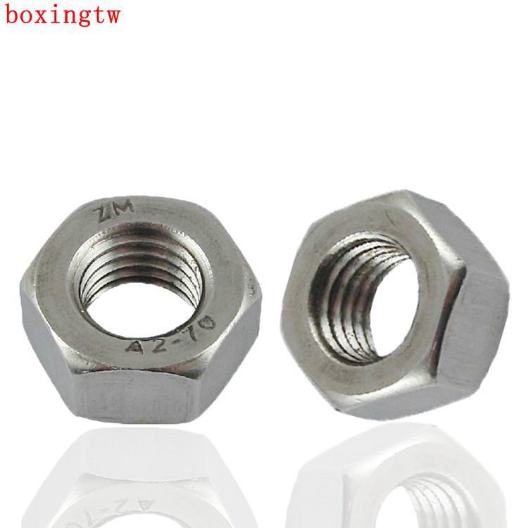 500pcs Metric M2.5 DIN934 304 Stainless Steel Hex Nut Hexagonal Nut Screw Nut
