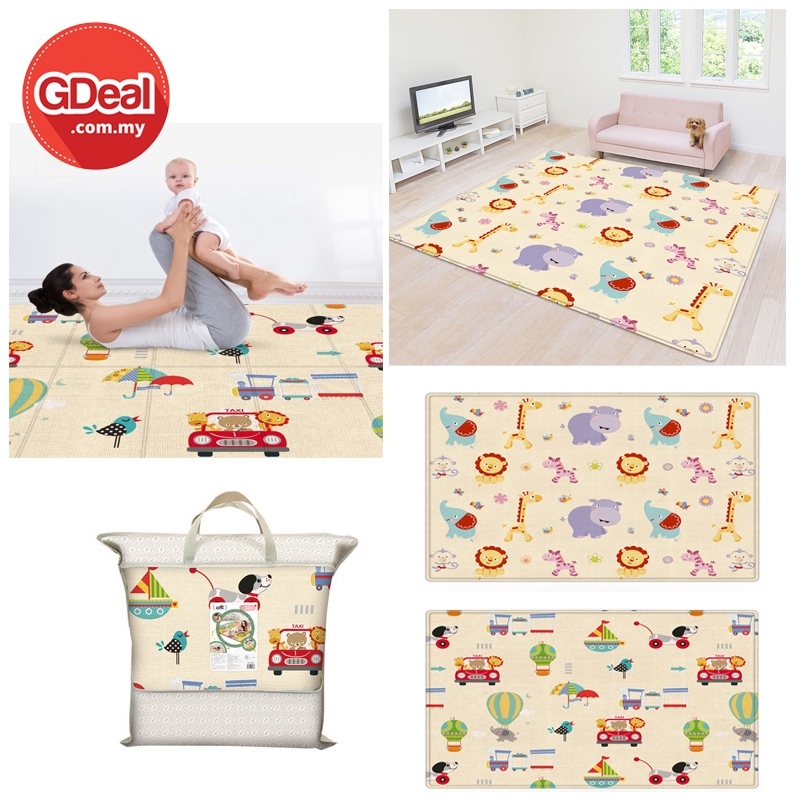 GDeal Baby Crawling Exercise Mat Childrens Play Thick Mat Kids Baby Room Protection Carpet