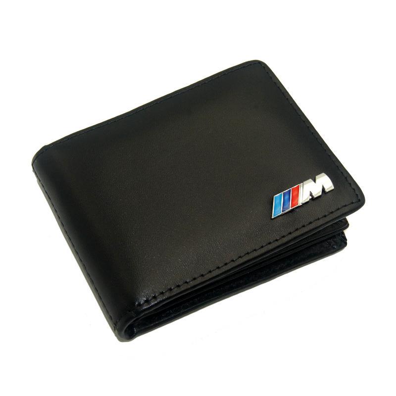 M Performance Cow Leather Wallet for BMW Card Holder M3 M5 e46 e60 F10 F30