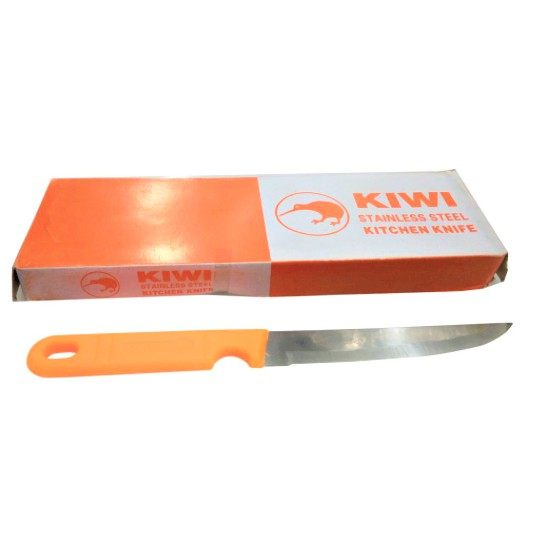 Thailand Kiwi Kitchen Plastic Handle Knife Stainless Steel Blade Household Knife S4