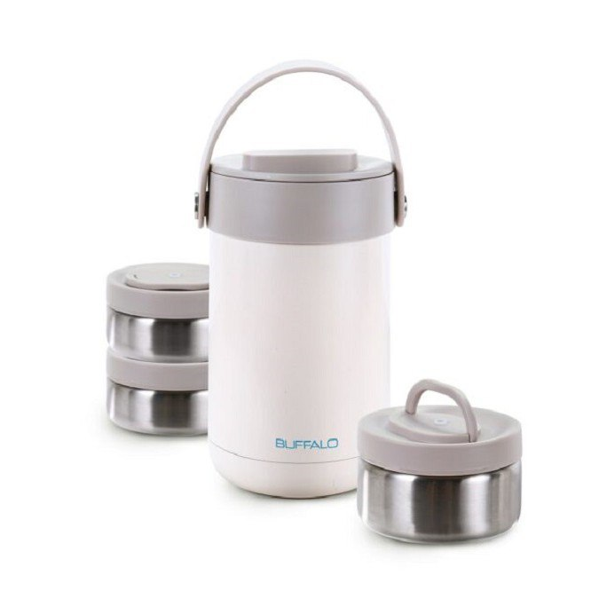 [READY STOCK] Buffalo Stainless Steel Vacuum Lunch Box