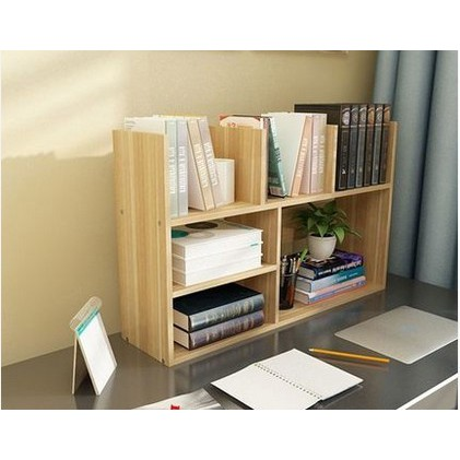 Table Small Bookcase Desktop Bookcase With Simple