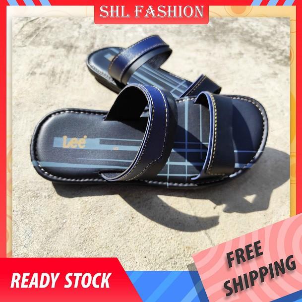 SHL Boy's Sandal Selipar Budak Lelaki PU Leather Casual slipper size 1-5【儿童拖鞋】-5102