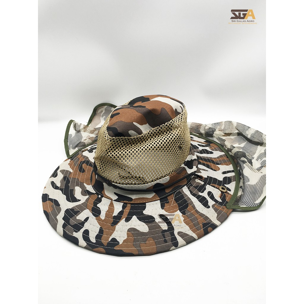 020af7cd967 Full Protection Cap Breathable Neck Flaps