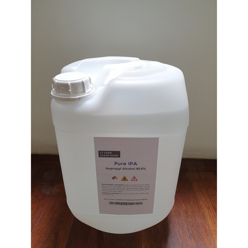 Isopropyl alcohol (IPA) - 99 8%, 25 litres