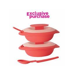 [PRE-ORDER] Tupperware Sambal Dish with Spoon