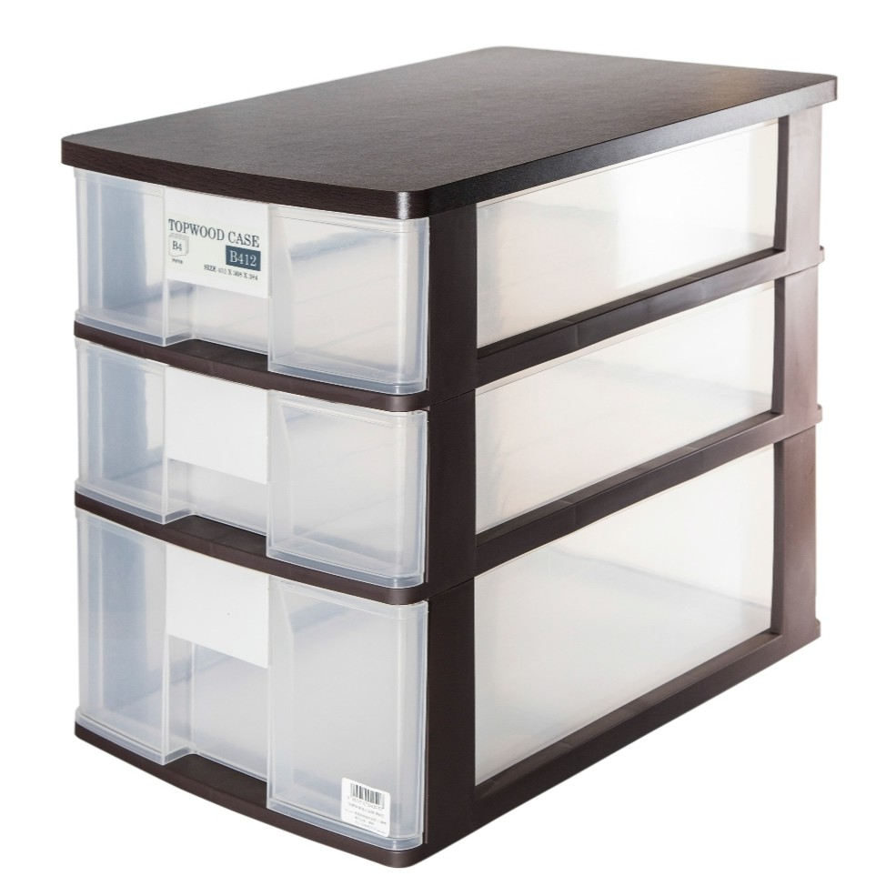 Clover Top Wood B4 Size Filling Cabinet