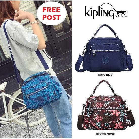 99d30f931 [LOCAL READY STOCK] - KIPLING Sling Bag Nylon Waterproof Travel Classic Bag  | Shopee Malaysia