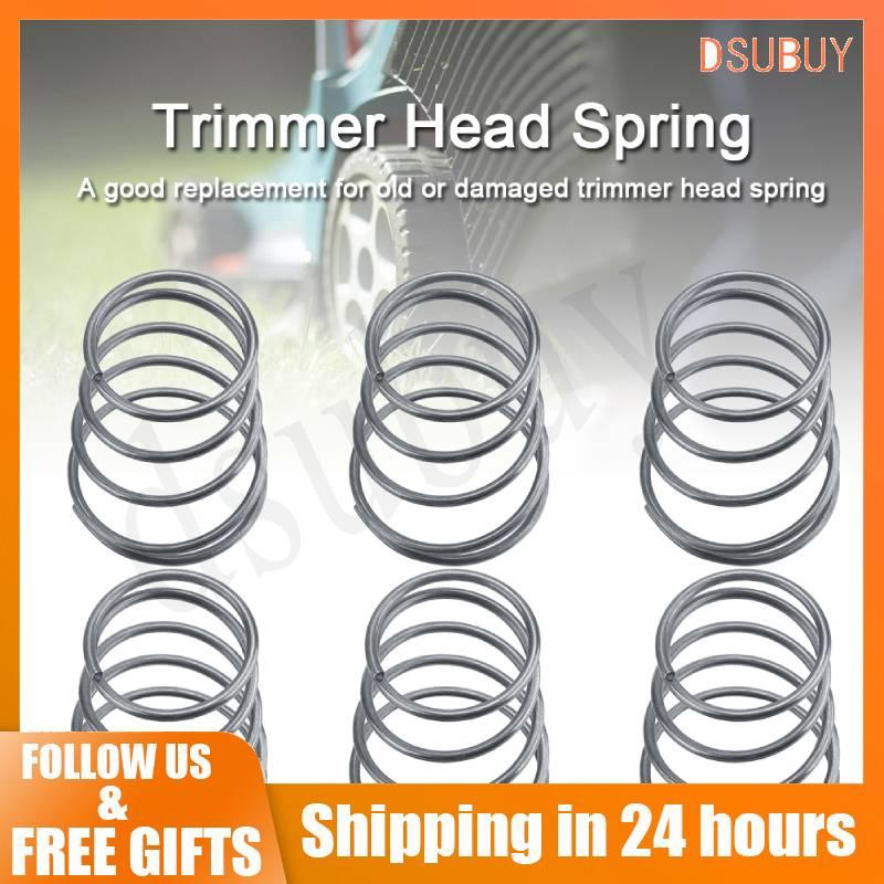 [Dsubuy] 5pcs Grass Trimmer Head Accessories Springs Replacement Fits  Universal Brush Cutter Parts