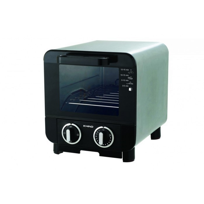 KHIND BREAD TOASTER OVEN 8L WITH MULTI HEATER SELECTION | OT 08SS