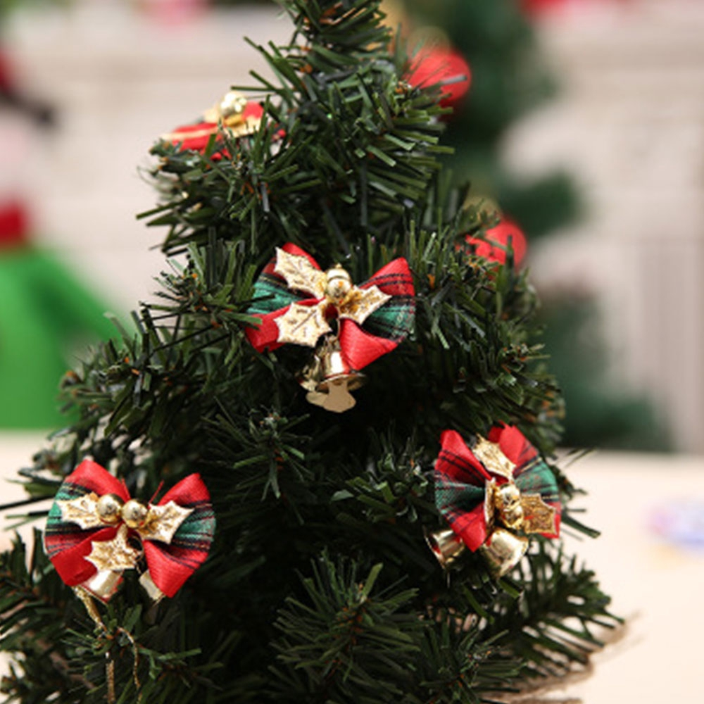 Christmas Tree Bows White.Christmas Tree Bow Decoration Baubles Xmas Party Bows
