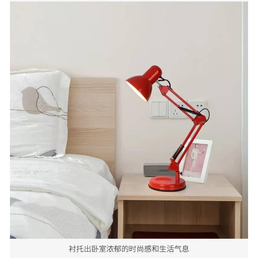 IKEA Work Lamp Style Forsa Reading Desk Lamps W Adjustable Flexible Swing Arm Led Vintage Classic Lighting Nordic Light