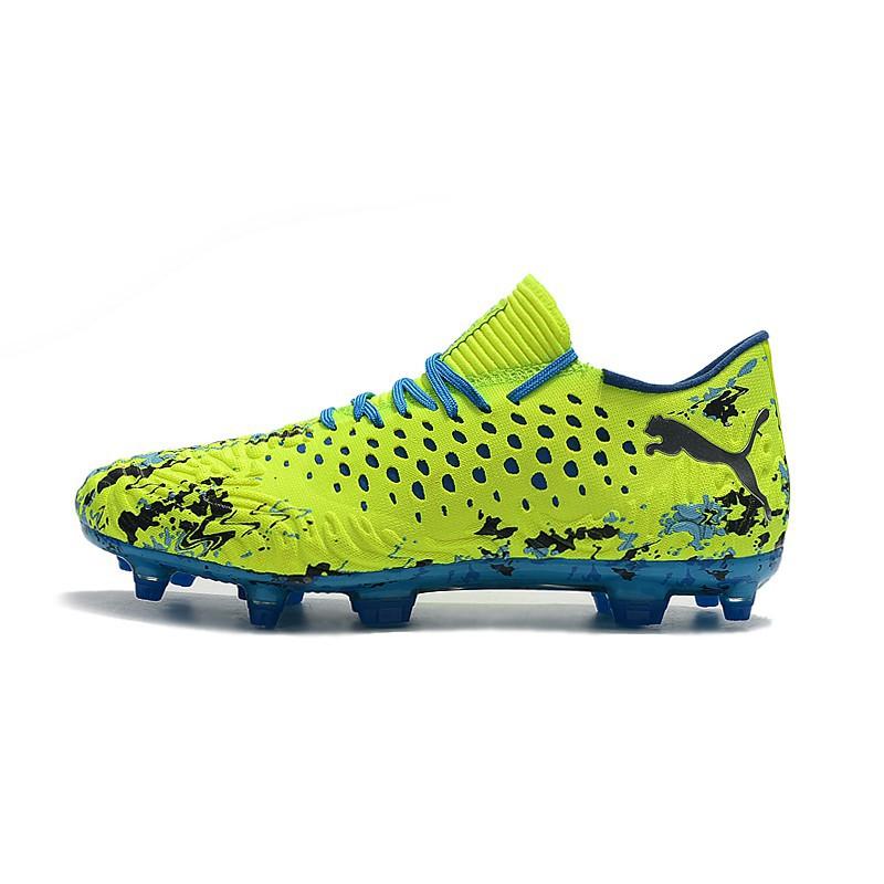 PUMA Future Netfit Griezmann 19.1 FG Mens low top football shoes yellow 39 45