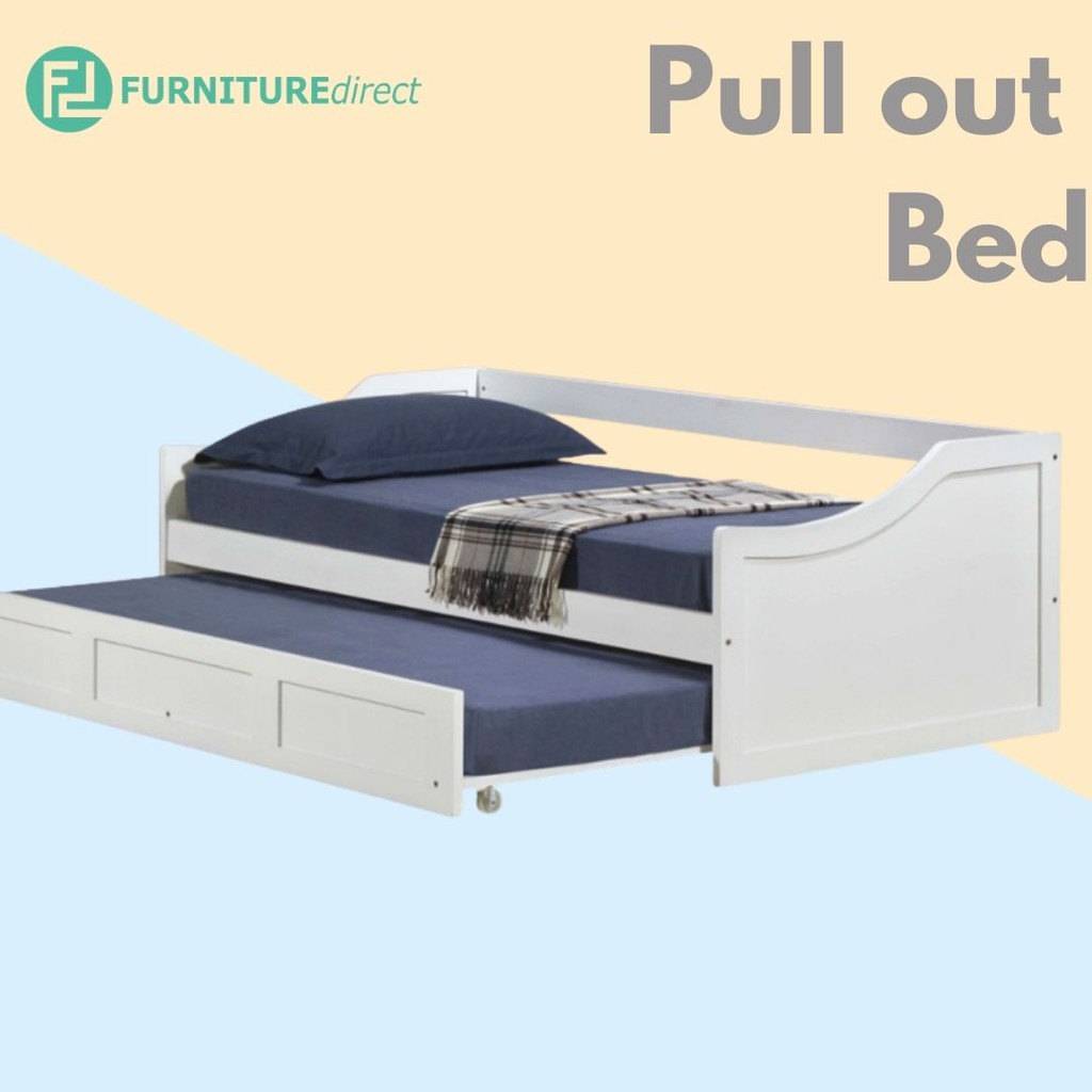 Furniture Direct LT1255 solid wooden single size daybed with drawers storage