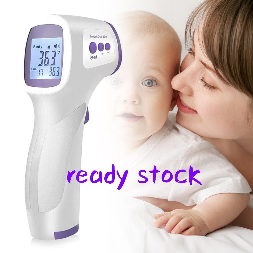 Contact Thermometer Human Infrared Thermometer Children s Temperature Gun,A,DM300 W thermometer Home Electronic Thermometer Non all English models