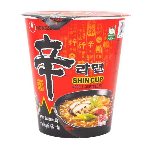 Halal Nongshim Shin Ramyun Noodle【Cup/Bowl/Pack】Mushroom Ramen Instant Noodle 农心辛拉面【杯面/碗装/包装】方便面泡面快熟面