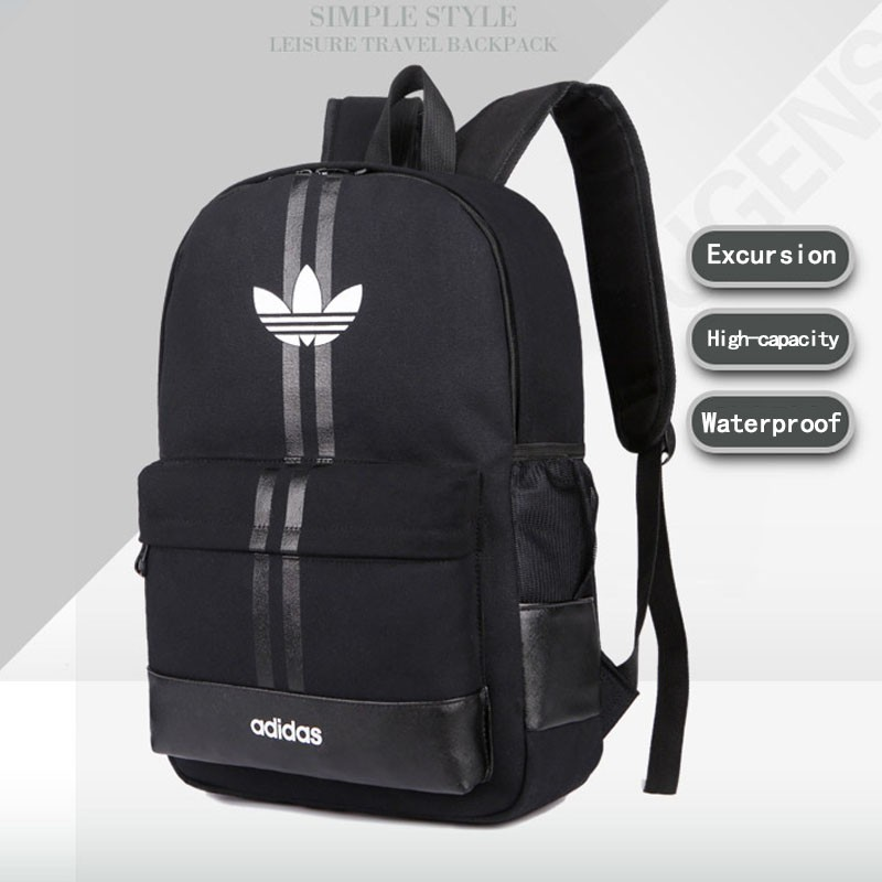 96091ac5a7 Free shipping   43 28 12cm Adidas Laptop Travel School Backpack Bag ...