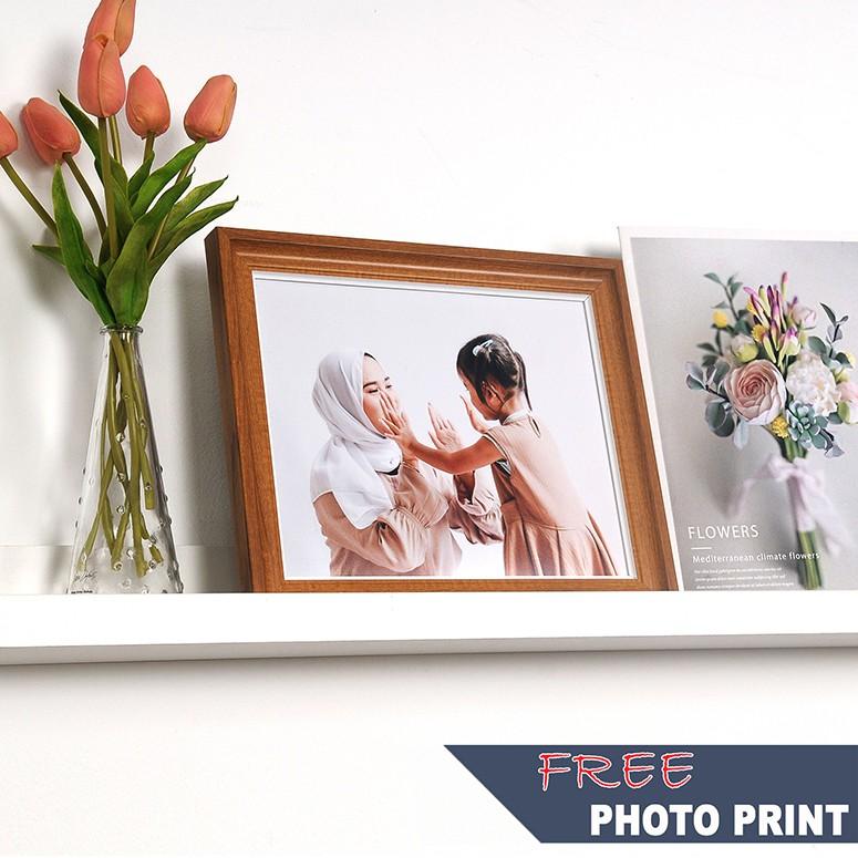 Nordic Simplicity Frame With Free Photo Printing In5R, 6R, 8R, 8inx12inch, 10R, 10x15inch &12R Size/Bingkai Gambar/北欧简约风