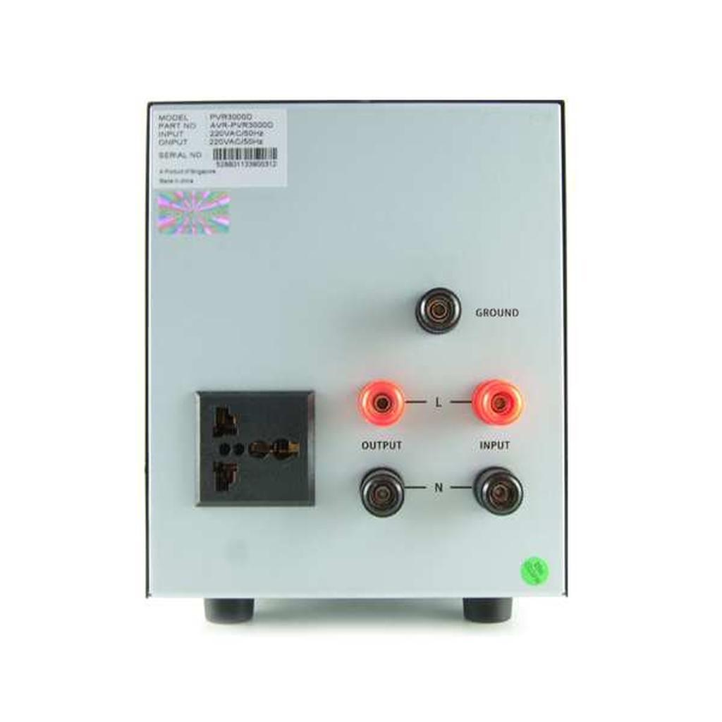 PROLiNK 3KVA / 2400W Heavy Duty AVR Auto Voltage Stabilizer PVR3000D