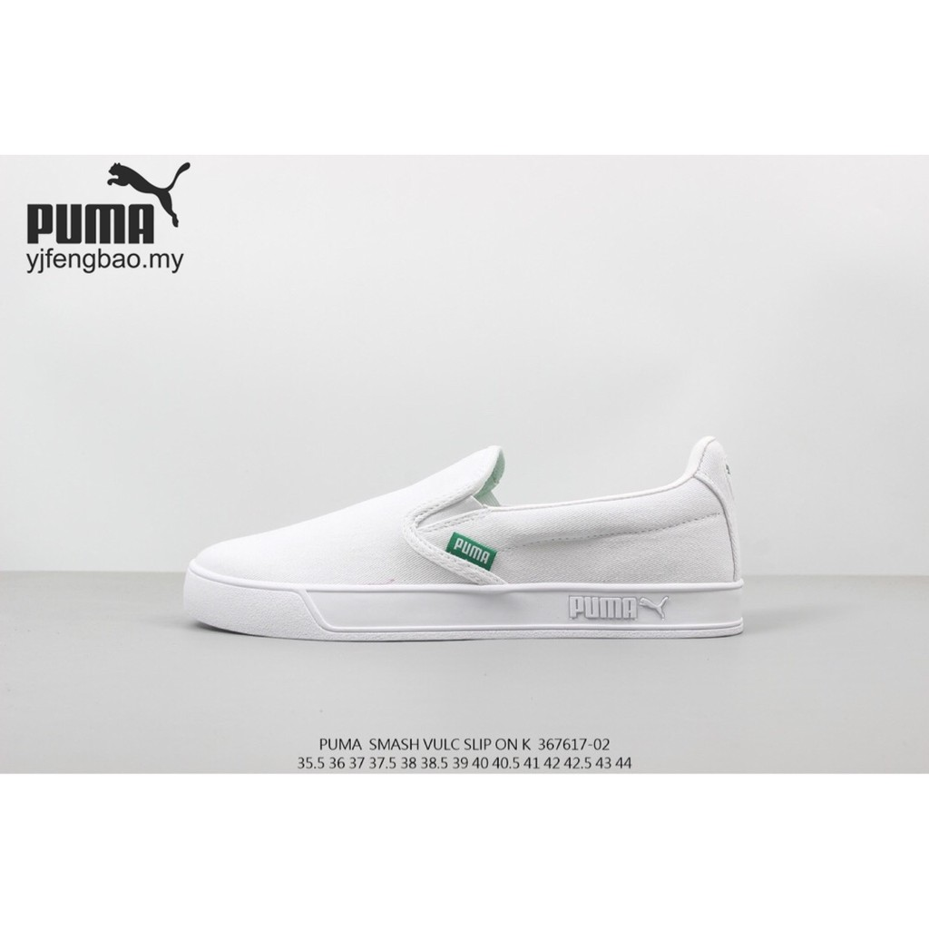 competitive price 3fbbf e56f9 New Arrival Puma Smash Vulc Slip on Lelaki or Wanita Kasut casual sneakers  shoes
