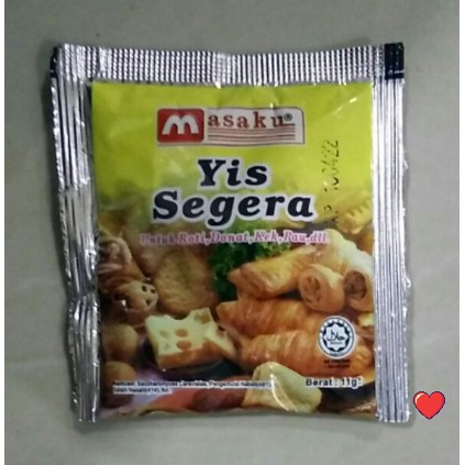 masaku Yis Segera / Instant Yeast 11g ( Free Fragile + Bubblewrap Packing )