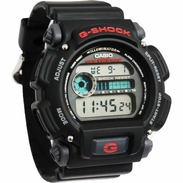 ORIGINAL Casio G-Shock/G Shock/Gshock DW9052 DW-9052 Black Sport ...
