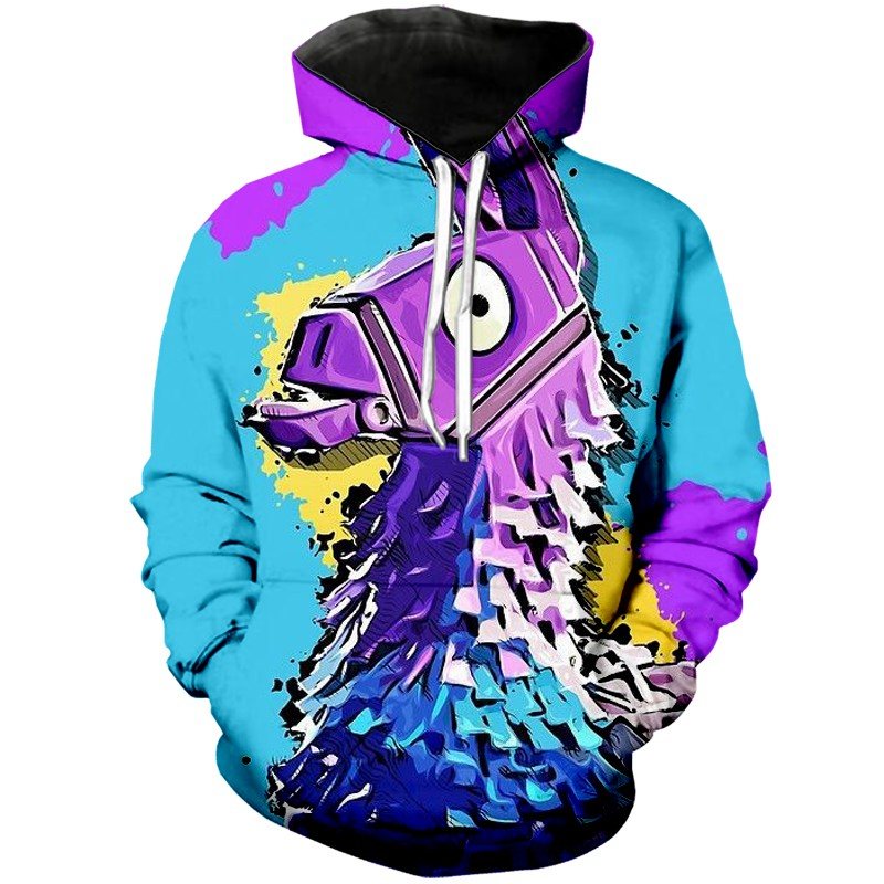 Men And Women 2019 New 3d Hoodies Battle Royale Game Fortnite Funny A348