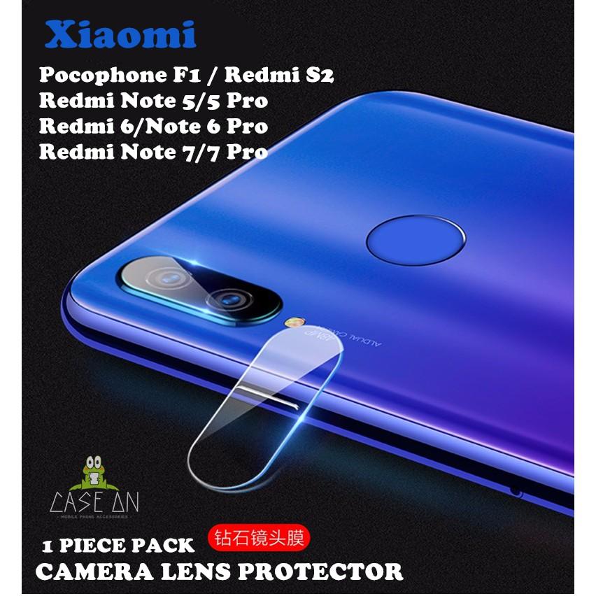 Xiaomi Pocophone F1/Redmi Note 5/Note 5Pro /Redmi 6/ Note 6Pro/Note 7/Note  7Pro/ Redmi S2 Camera Lens Protector
