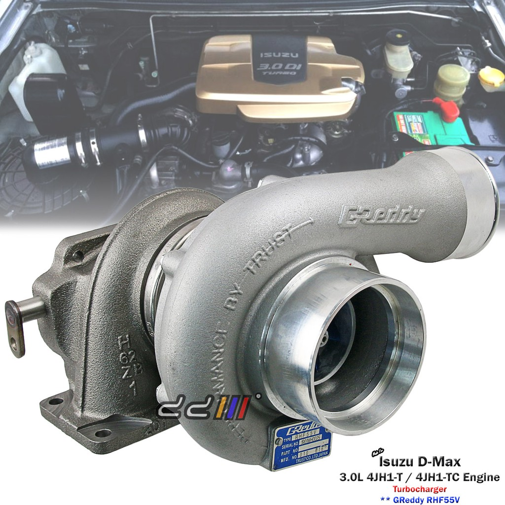 RHF55V Turbo Charger Isuzu D-Max Holden Rodeo 3 0L 4JH1 4JH1-TC GR Greddy  Style