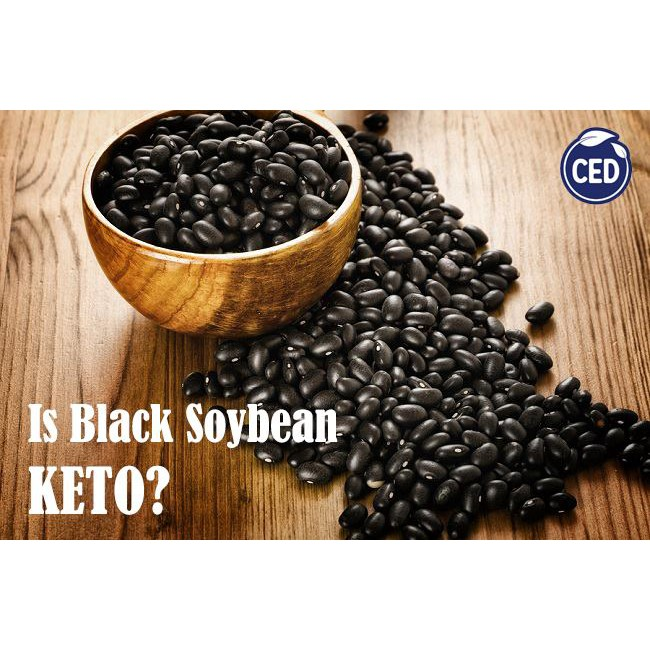 CED Organic Black Soybean 300gm