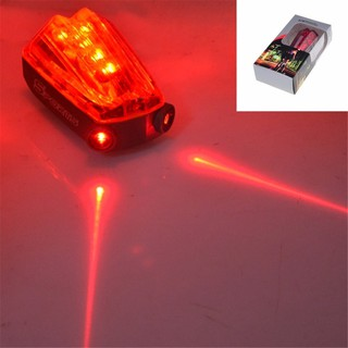 Car LED Laser Light Beam Lane Rear Back Taillight Caution Safe Lamp Warning