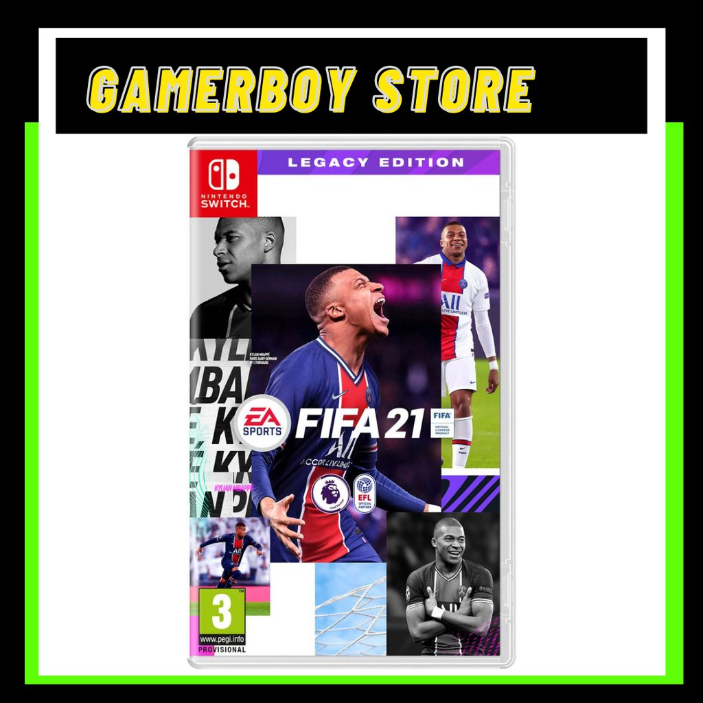 NINTENDO SWITCH FIFA 21 LEGACY EDITION PHYSICAL
