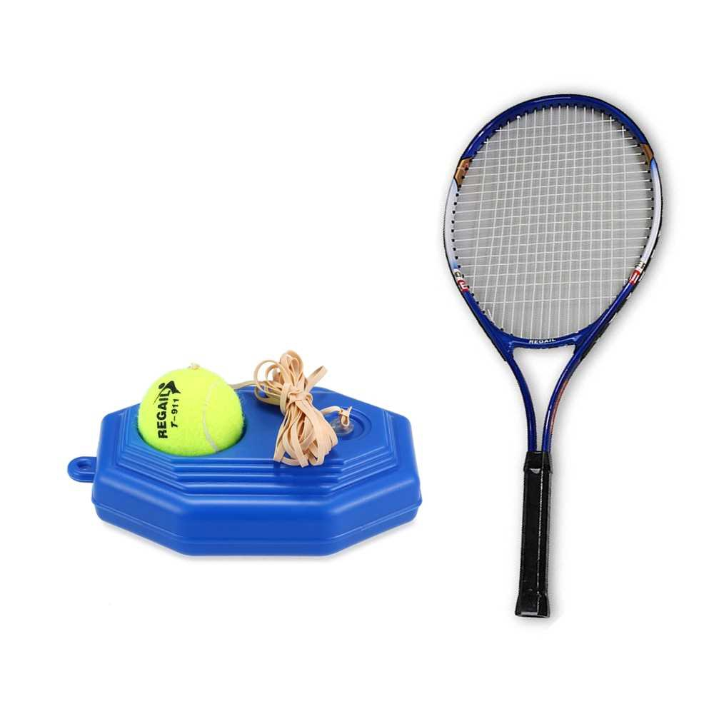 Tennis Trainer Practice Training Tool Baseboard Exercise Rebound Ball with String Set (Standard)