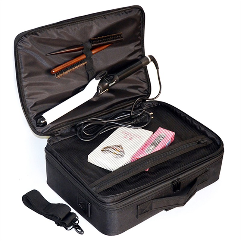 fa3aee768db9 Multi-function portable partition cosmetic bag