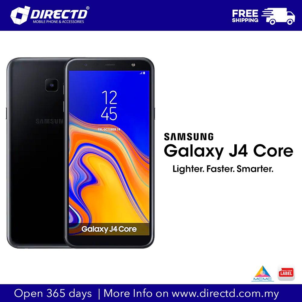 SAMSUNG Galaxy J4 Core (NEW MODEL)ORIGINAL set by Samsung Malaysia