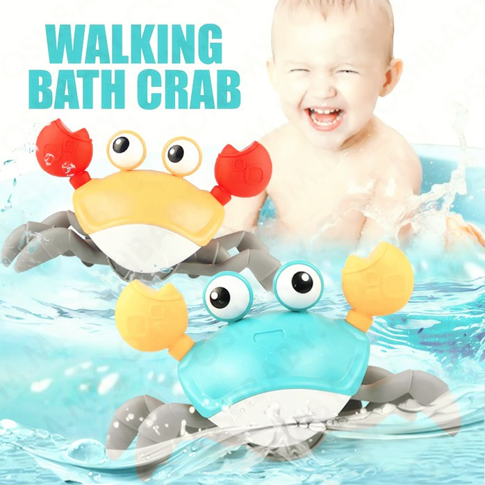 MALAYSIA O] ALAT PERMAINAN BAYI KETAM BERJALAN DALAM AIR / WALKING BATH CRAB