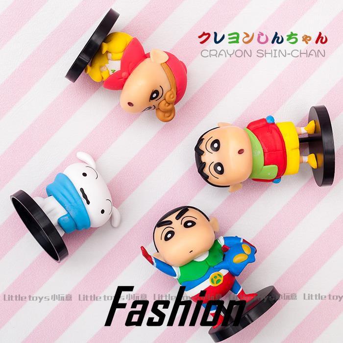Crayon Shinchan Dynamic Superman Xiaobai Xiaokui Winter Model Car Cartoon Decora