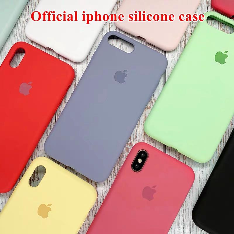 เคส iphone 7 8 apple iphone 7P 8 plus case เคสซิลิโคน เคส Liquid Silicone Soft Case Cover ZQเคสiphon