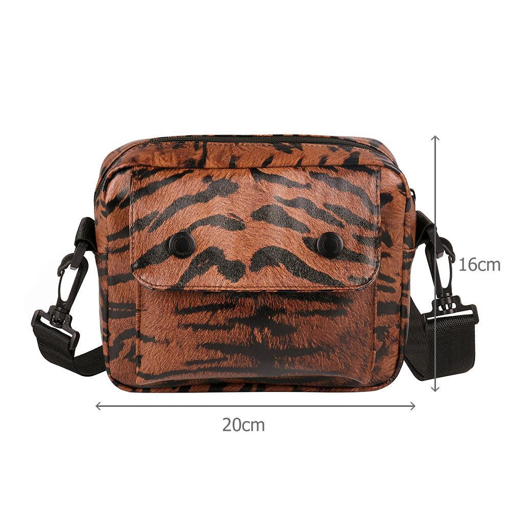 165b89ba034b MOJ♚Hot Leopard Leather Women Satchel Crossbody Belt Bag Messenger Shoulder  Bags