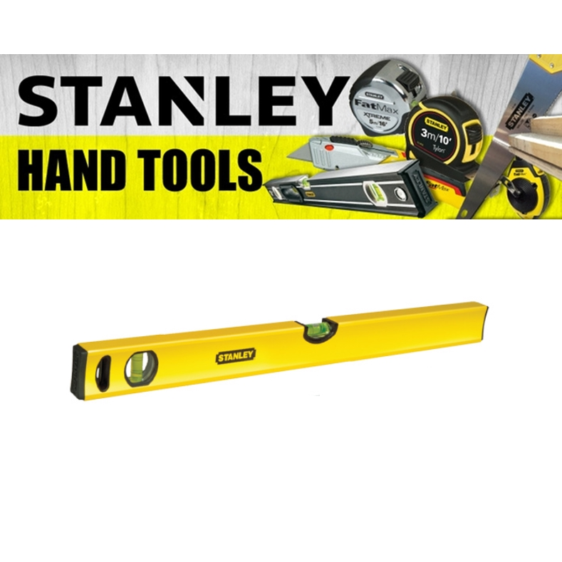 STANLEY HAND POWER TOOLS CLASSIC BOX LEVEL  NON MAGNETIC PLUMB MEASURE  (3 MONTH WARRANTY)