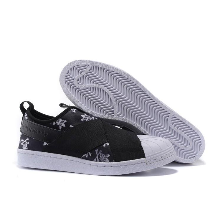 adidas Superstar Slip on Shoes Black | adidas Malaysia