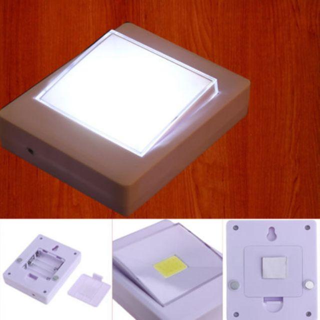 ???????? Mini COB LED Wireless Closet Cordless Wall Switch Night Light Home