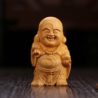 Chinese folk art yueqing boxwood carving figure fish dragon 螭吻