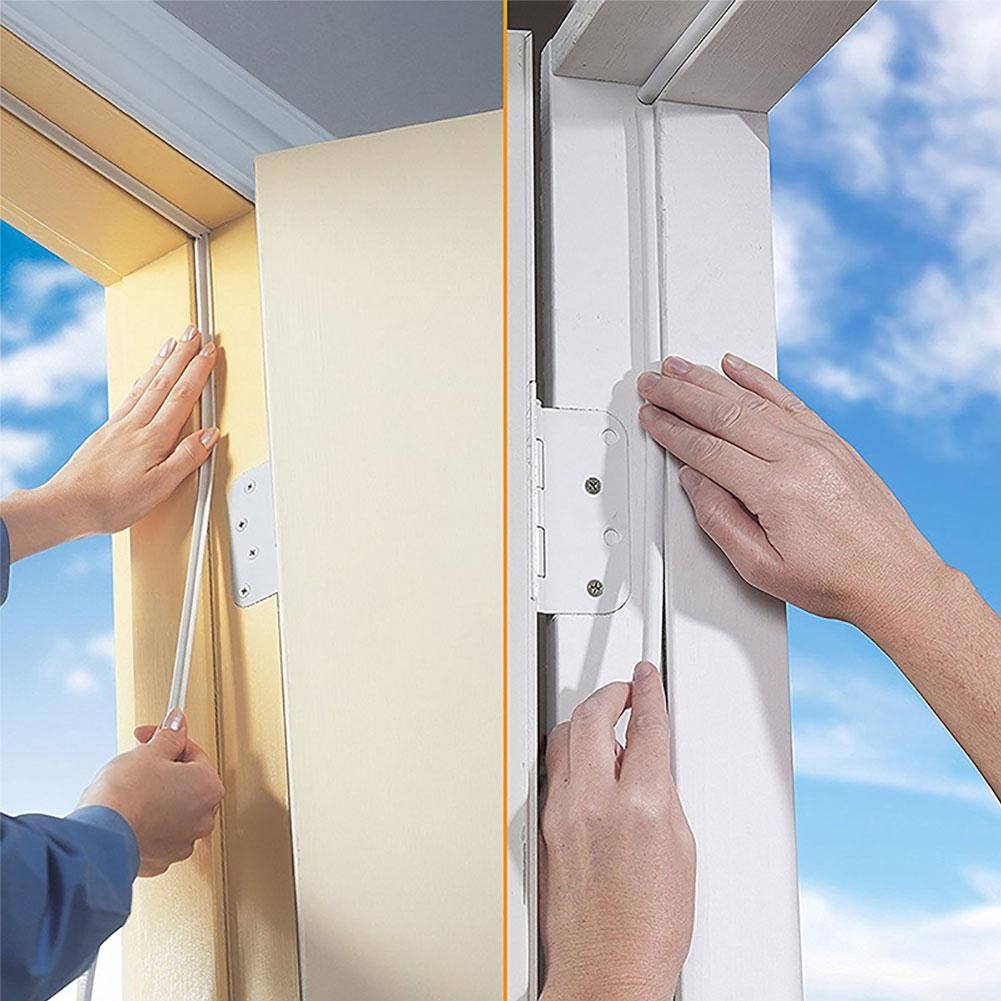 Foam Seal Strips For Home Door Windows Gap Self-adhesive Sealing Tape 10 Meters