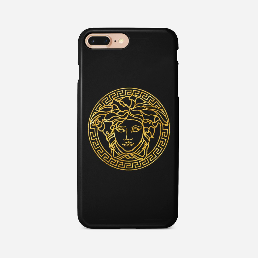 new style a1a0b f8a5a Versace phone case for iPhone Xs Max Xr 10 X 7 8 6 Plus, Samsung S8 S8 S9  Plus S7 Edge