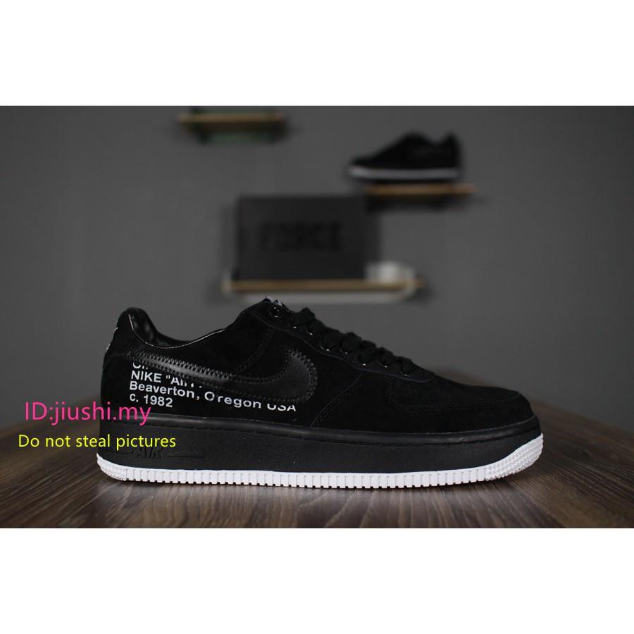 05deeba2570 Nike Air Force 1 QS Velcro Swoosh Pack Black AH8462-002