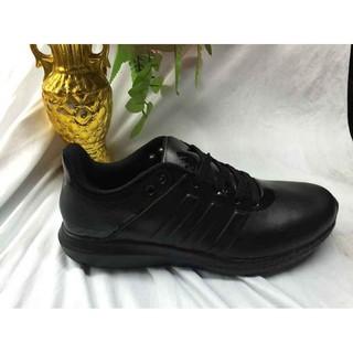 Neu Adidas Ultra Boost Leather men shoes 40 44 All Black