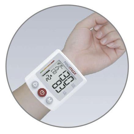 ROSSMAX Deluxe Automatic Wrist Blood Pressure Monitor Model BQ705